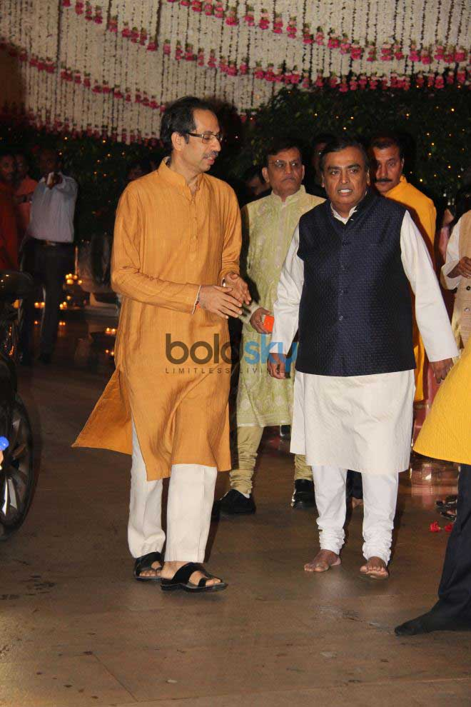 Mukesh Ambani's Ganpati Celebrations