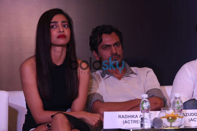 Radhika Apte,Saif Ali Khan And Nawazuddin Siddiqui At Netflix's Web Series