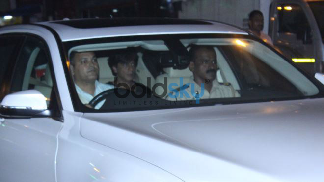 Sanjay Leela Bhansali And Shah Rukh Khan Spotted At Gauri Khan Store