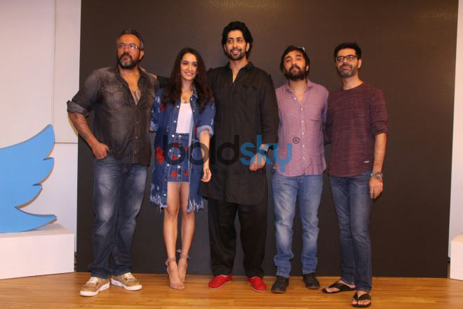 Shraddha Kapoor, Siddhanth Kapoor, Ankur Bhatia Launch 'Haseena Parkar' Song 'Tere Bina'