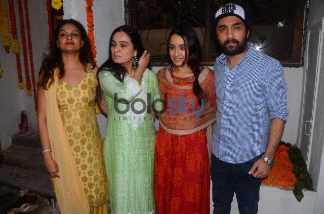 Shradha Kapoor Celebrate Ganpati Festival