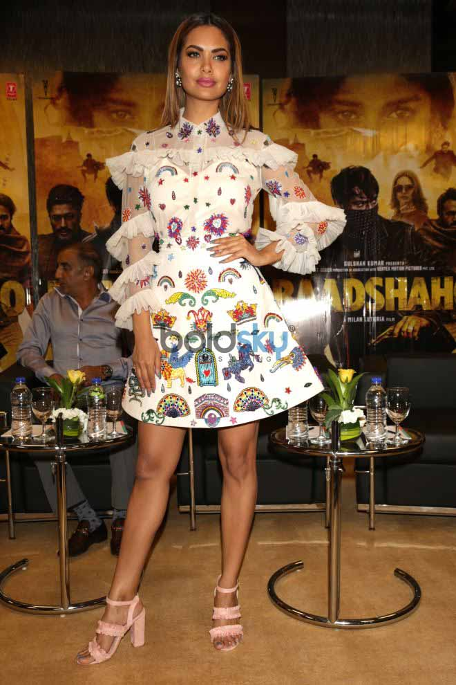 The Cast Of Baadshaho At A Press Meet In New Delhi