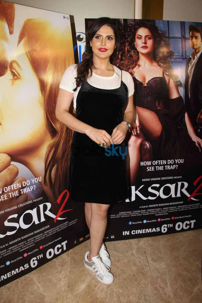 The Trailer Launch Of Film Aksar 2 With Starcast Of The Film