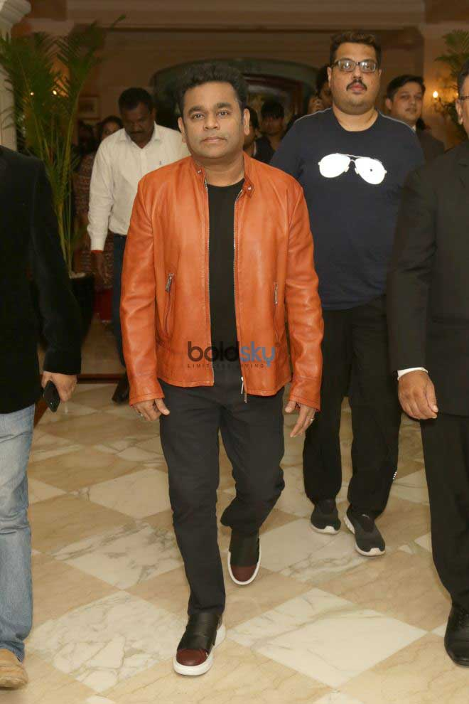 AR Rahman At A Press Conference To Announce Launch Of The Sufi Route