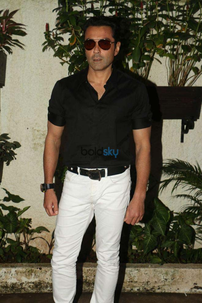 Bobby Deol Promote Poster Boys At Sunny Super Sound