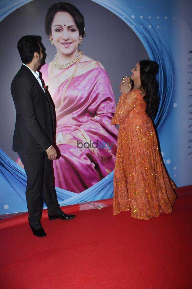 Celebs Grace At Hema Malini's Indo -Georgia Synergy