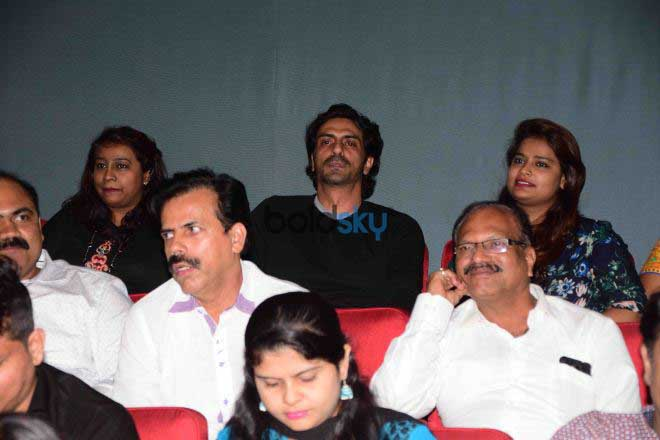 Daddy Screening For Arun Gawli Family With Arjun Rampal