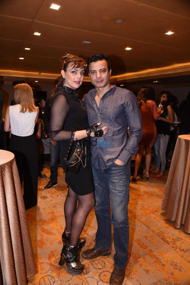 Falguni & Shane Peacock At Bombay Fashion Week