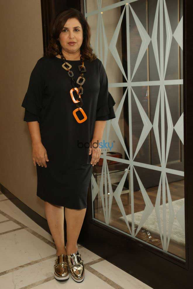 Farah Khan At Press Conference Of Lip Sing Battle In New Delhi