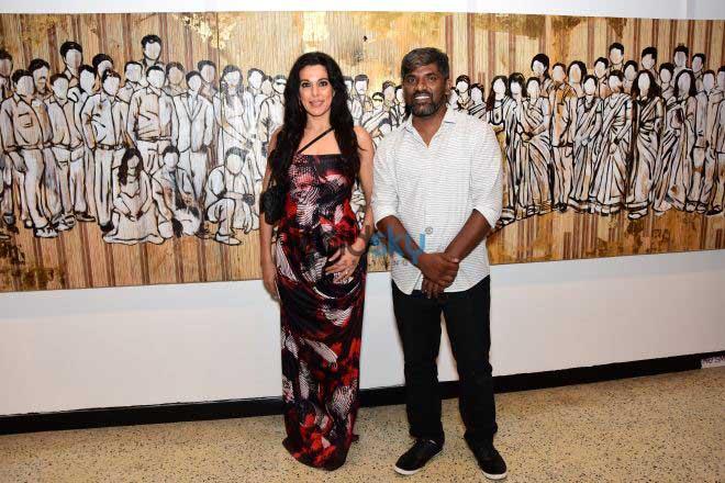 Inauguration Of Artist Mallikarjun Katke Show Me At Jehangir Art Gallery