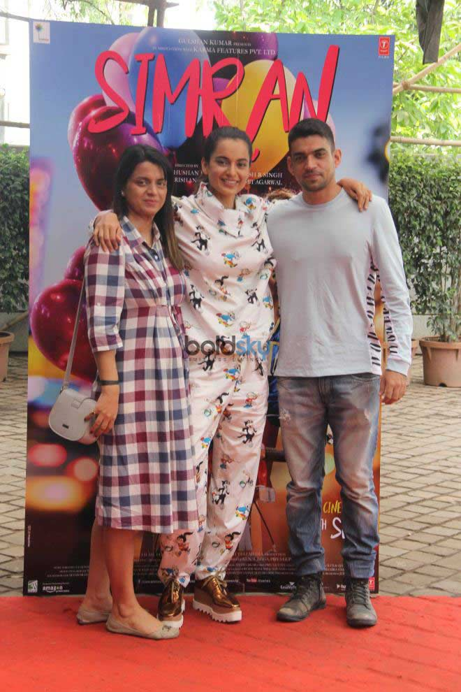Kangana Ranaut At Simran Movie Song Launch