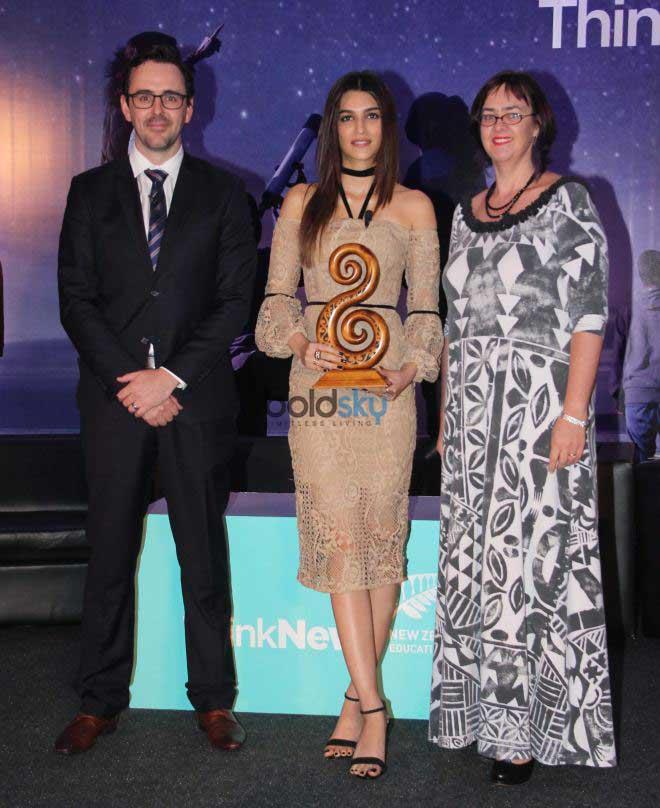 Kriti Sanon At 'THINK NEW' In New Zealand Press Meet