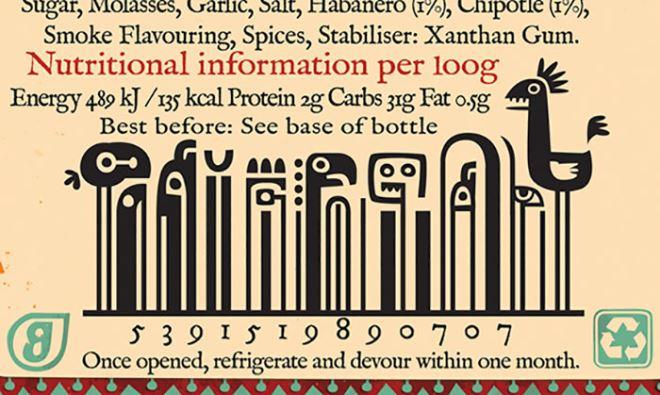 Most Creative Bar Code Designs