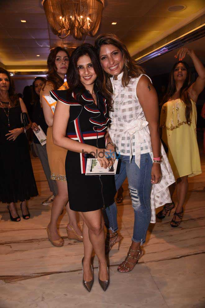 Nandita Mahtani Present At The Bombay Times Fashion Show