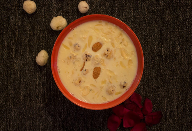 Navratri Special Recipes: Phool Makhana Kheer
