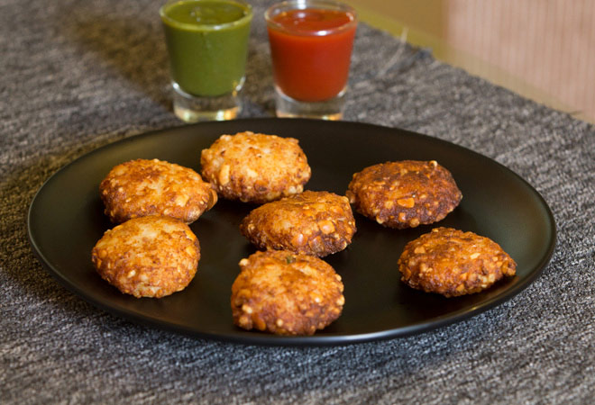 how to make sabudana tikki