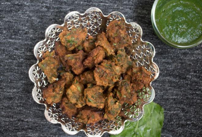 Navratri Special Recipes: Spinach & Buckwheat Pakora