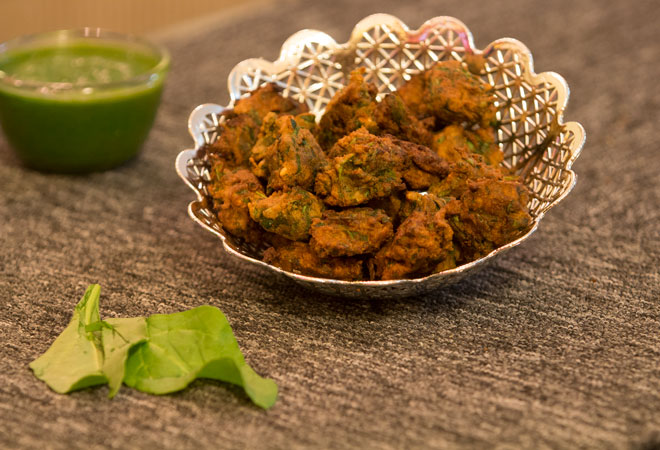 Navratri Special Recipes: Spinach & Buckwheat Pakora