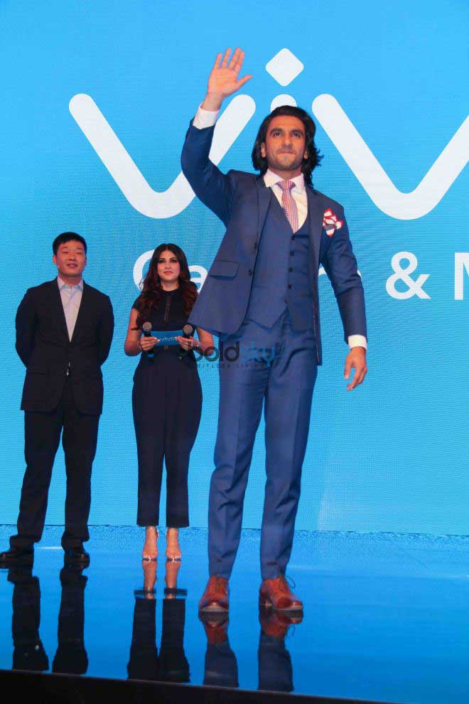 Ranveer Singh At New Vivo Mobile Launch