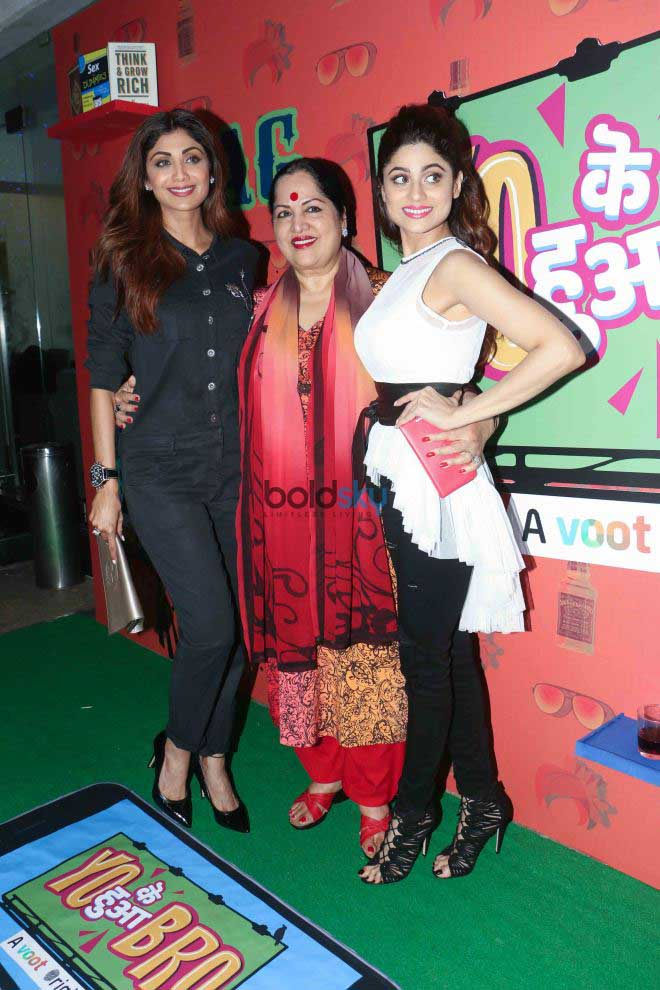 Rekha,Shilpa Shetty And Other Celebs At Yo Ke Hua Bro Screening