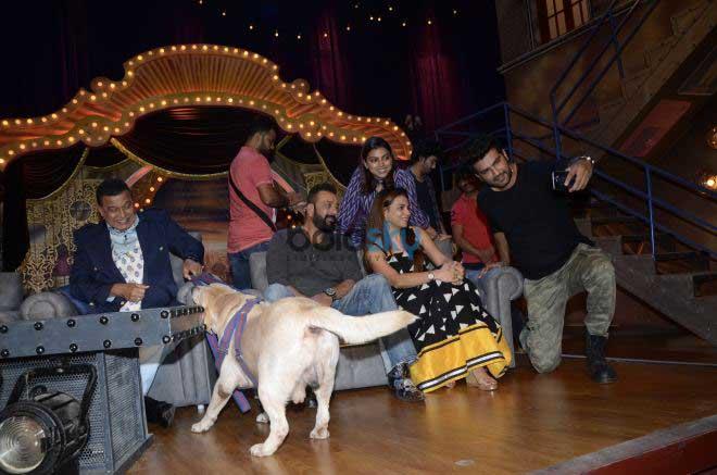 Sanjay Dutt At Comedy Dangal