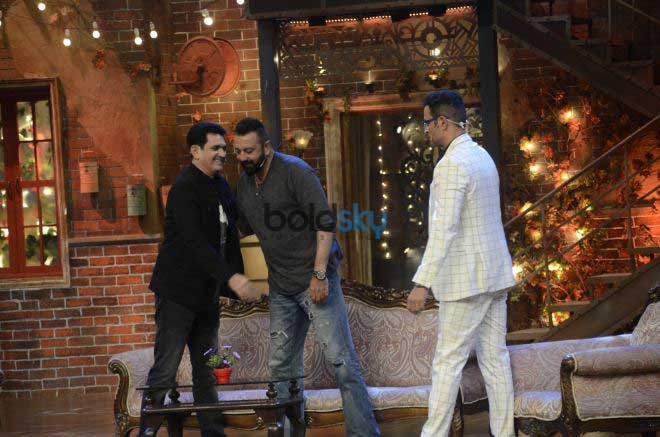 Sanjay Dutt At Comedy Dangal