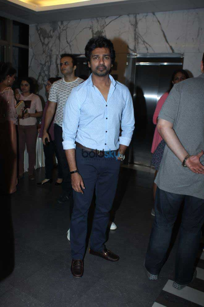 Special Screening Of Poster Boys At Yashraj Studio