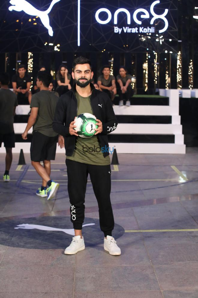 aadfc1ecb6a7a1 Indian Cricket Captain Virat Kohli Launched His Clothing Brand Virat One 8  With Puma