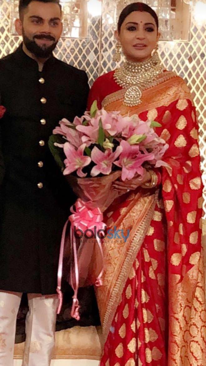 Virat Kohli And Anushka Sharma Wedding Reception In New
