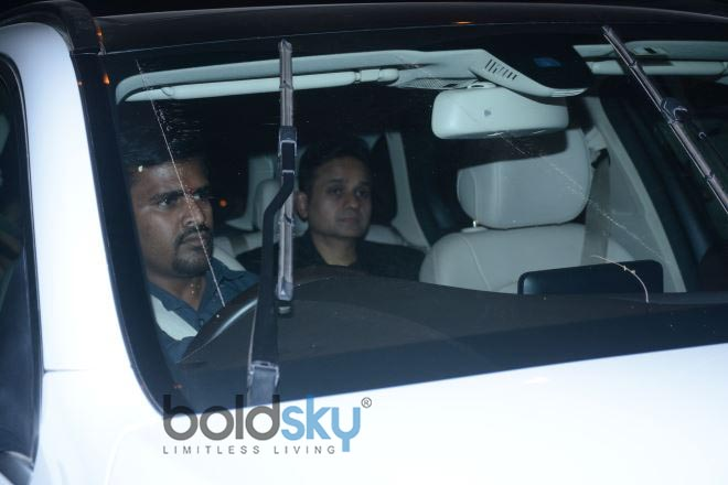 Celebs At Shah Rukh Khan's House Party