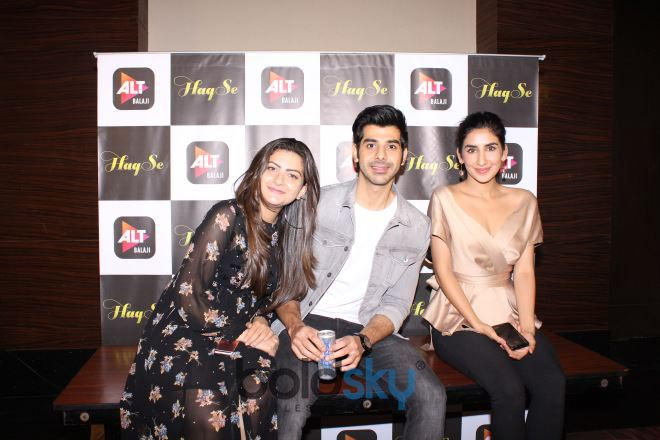 Interview Of Cast Of Upcoming Web Series 'Haq Se'