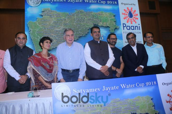 Press Meet Satyamev Jayate Water Cup 2018 With Amir Khan And Others