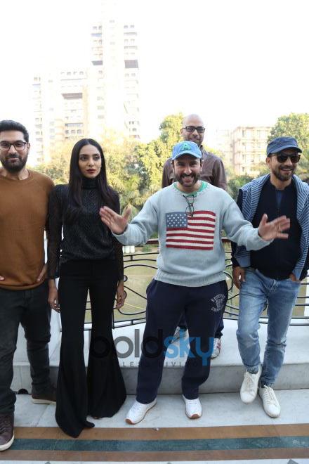 Saif Ali Khan And The Cast Of 'Kaalakaandi' Press Meet