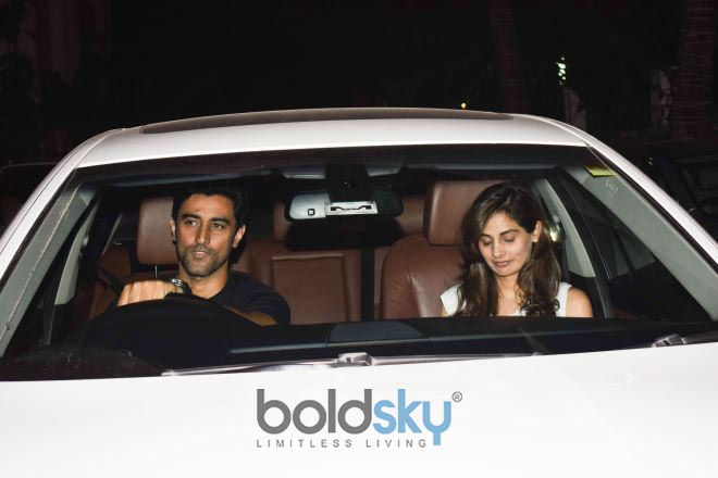 Sussanne Khan And Others Celebs At  Hrithik Roshan Birthday Bash