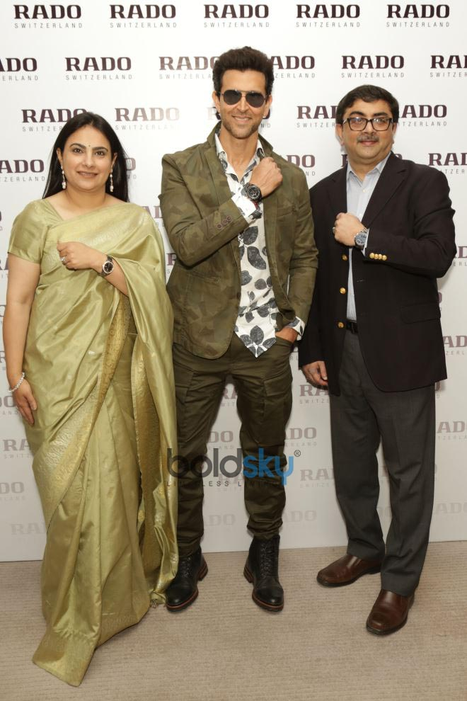 Hrithik Roshan's Event Of Launching Rado First Airport Store In New Delhi