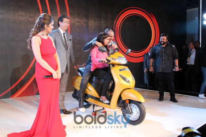 Akshay Kumar At Honda Event At Auto Expo In Noida
