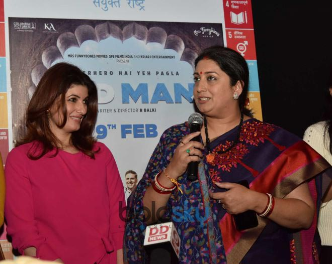 Akshay Kumar And Twinkle Khanna At Special Screening Of 'Padman'