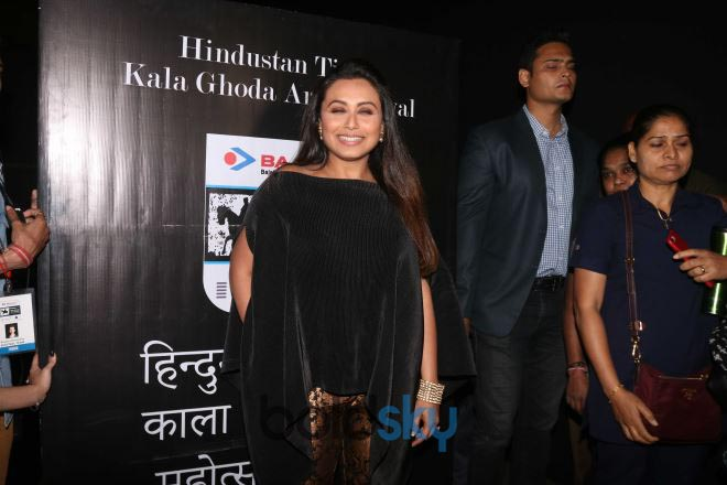 Bollywood Celebs At Kala Ghoda Art Festival 2018