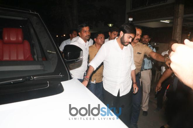Celebrities Visit Anil Kapoor House