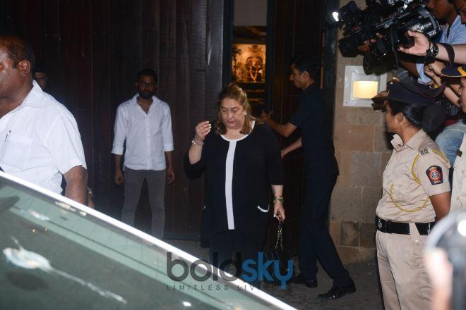 Celebrities Visit Anil Kapoor House