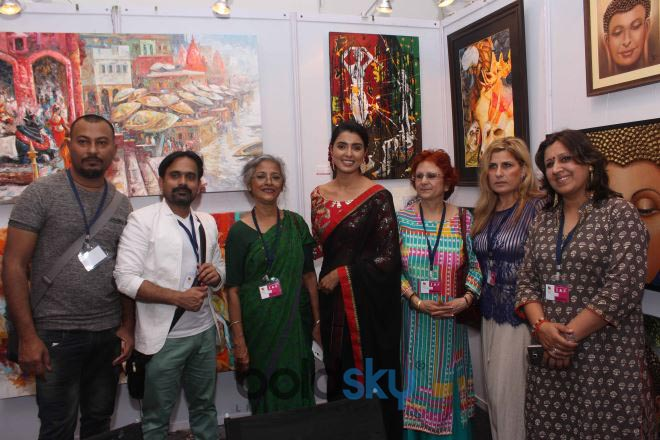 Inauguration Of 7th Edition Of The Prestigious India Art Festival