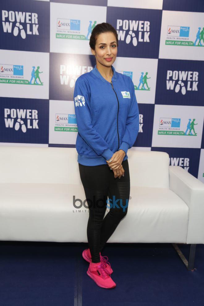 Malaika Arora, Ayushman Khurana And Sanya Malhotra At Max Bupa Walk For Health Marathon In New Delhi