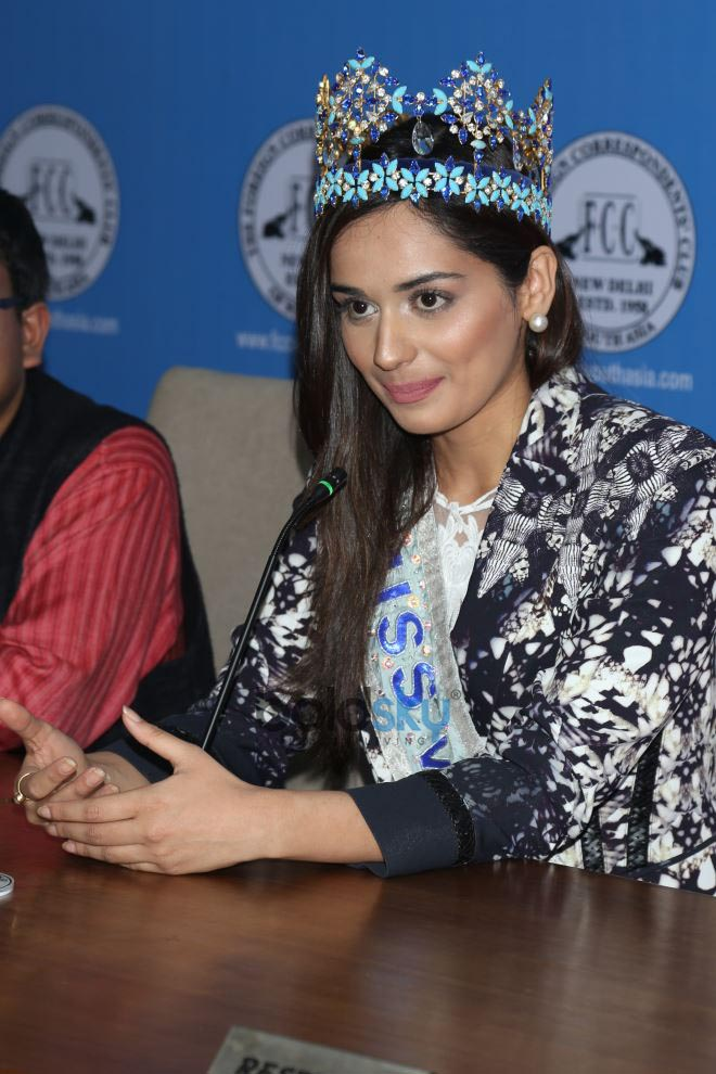 Miss World 2017 Manushi Chhillar At Miss World Organisation Event