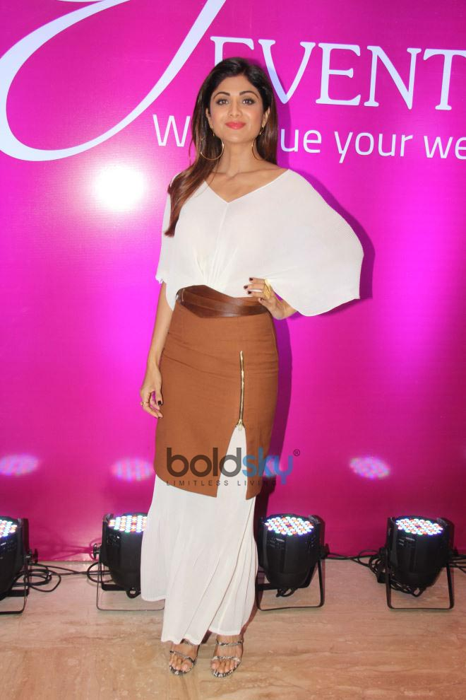 Shilpa Shetty At Grand Opening KYC Wedding Events 2018