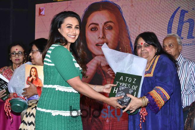 Song Launch Of  'Oye Hichki' With Rani Mukerji