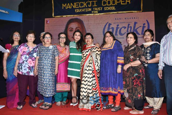 Song Launch Of  'Oye Hichki' With Rani Mukerji