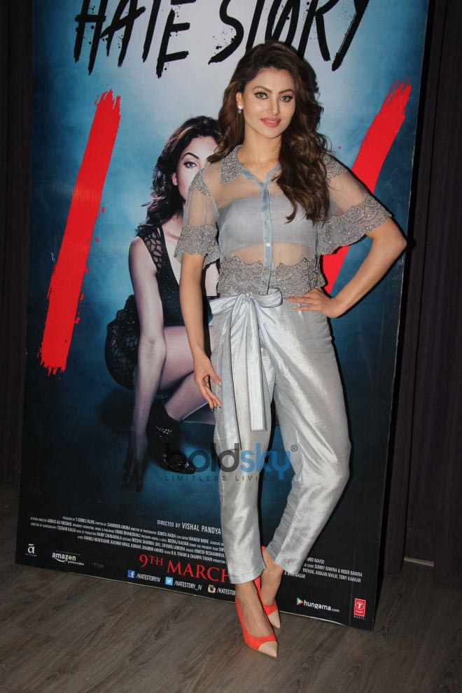 Urvashi Rautela At Interview For Hate Story 4