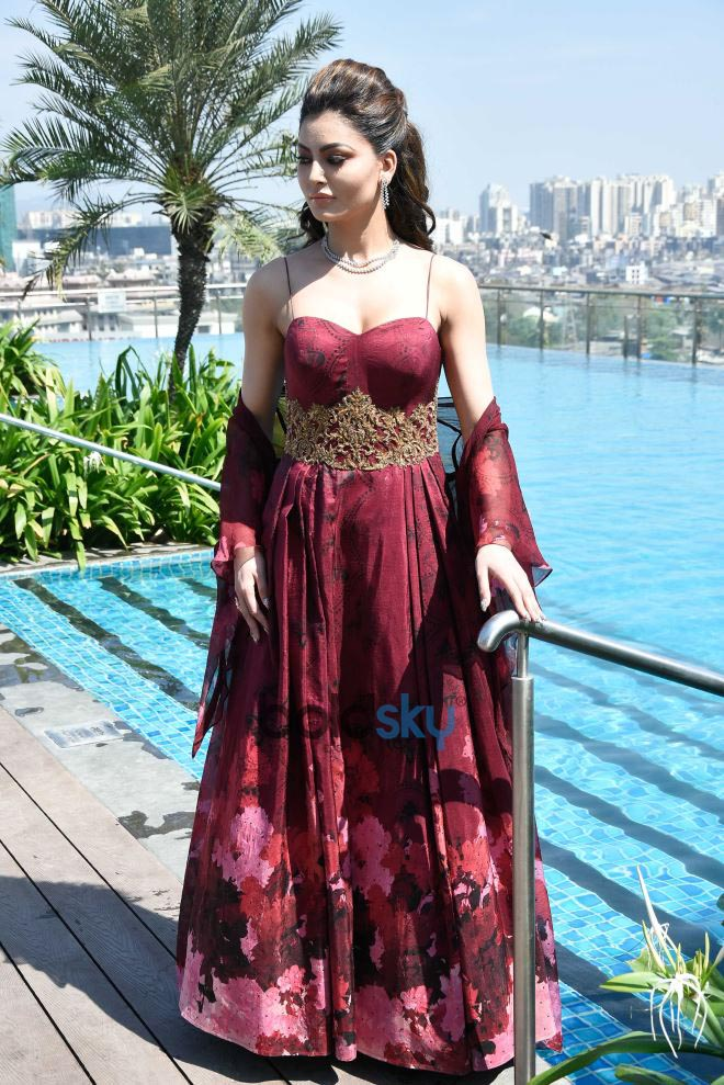 Urvashi Rautela PhotoShoot With Media