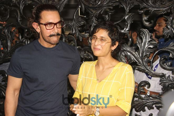 Aamir Khan Celebrates Birthday With Media