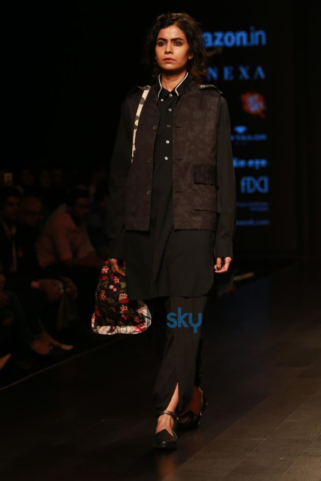 Designer Abraham & Thakore At Amazon India Fashion Week In New Delhi